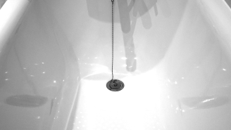 Woman Creeps People Out With Images Of Strange Light Emanating From Her Hotel Bathtub Drain