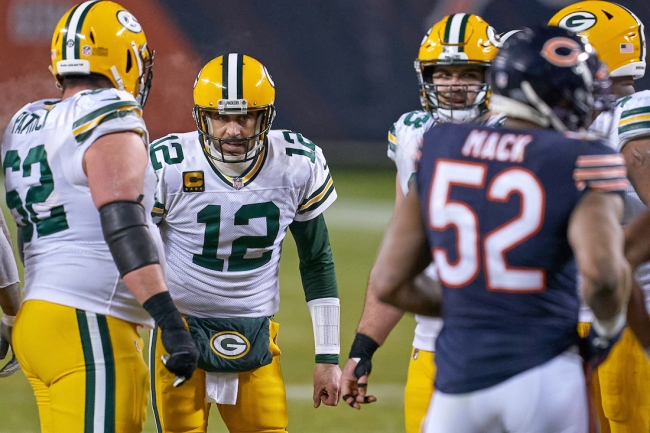 ESPN's Adam Schefter claims Aaron Rodgers is telling teammates he's not planning on returning to Green Bay Packers next season