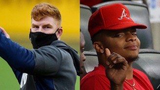 The Internet Fired Up The Andy Dalton Meme Machine After The Bears Traded Up To Pick Justin Fields