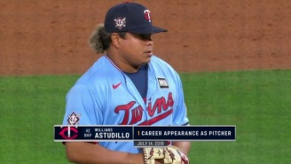 Willians Astudillo Got Three Outs After Throwing Six Pitches Under 60 MPH, Including A 46 MPH Strike And It Was Magnificent