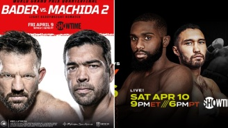 Showtime To Feature Back-To-Back MMA And Boxing Fight Nights With Bader-Machida 2 And Ennis-Lipinents This Weekend