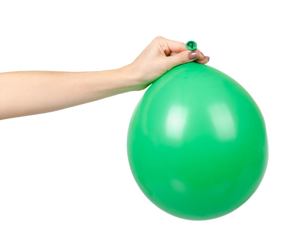 balloon full of gas