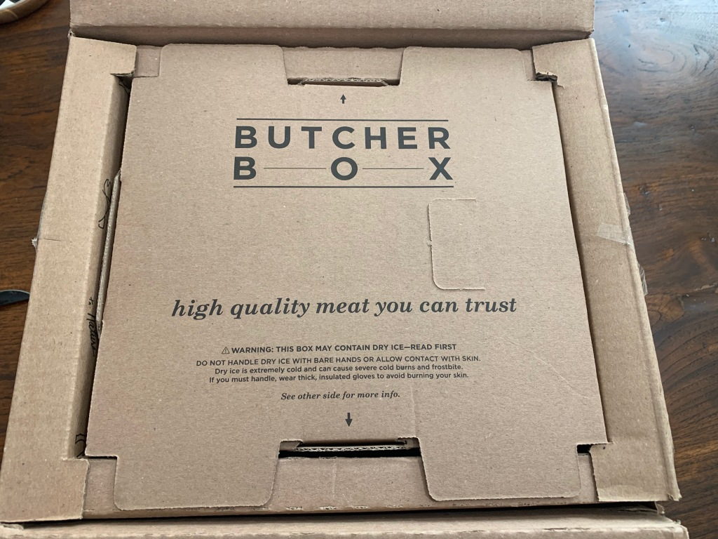 Butcher Box Steak Sandwich
