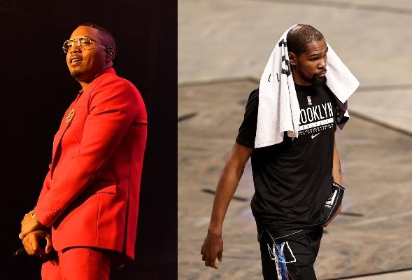 Kevin Durant and rapper Nas make major money on Coinbase IPO on Nasdaq.
