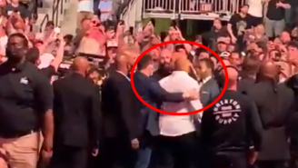 Daniel Cormier Confronted Jake Paul At UFC 261 And Told Him He Was Going To Smack Him In The Face