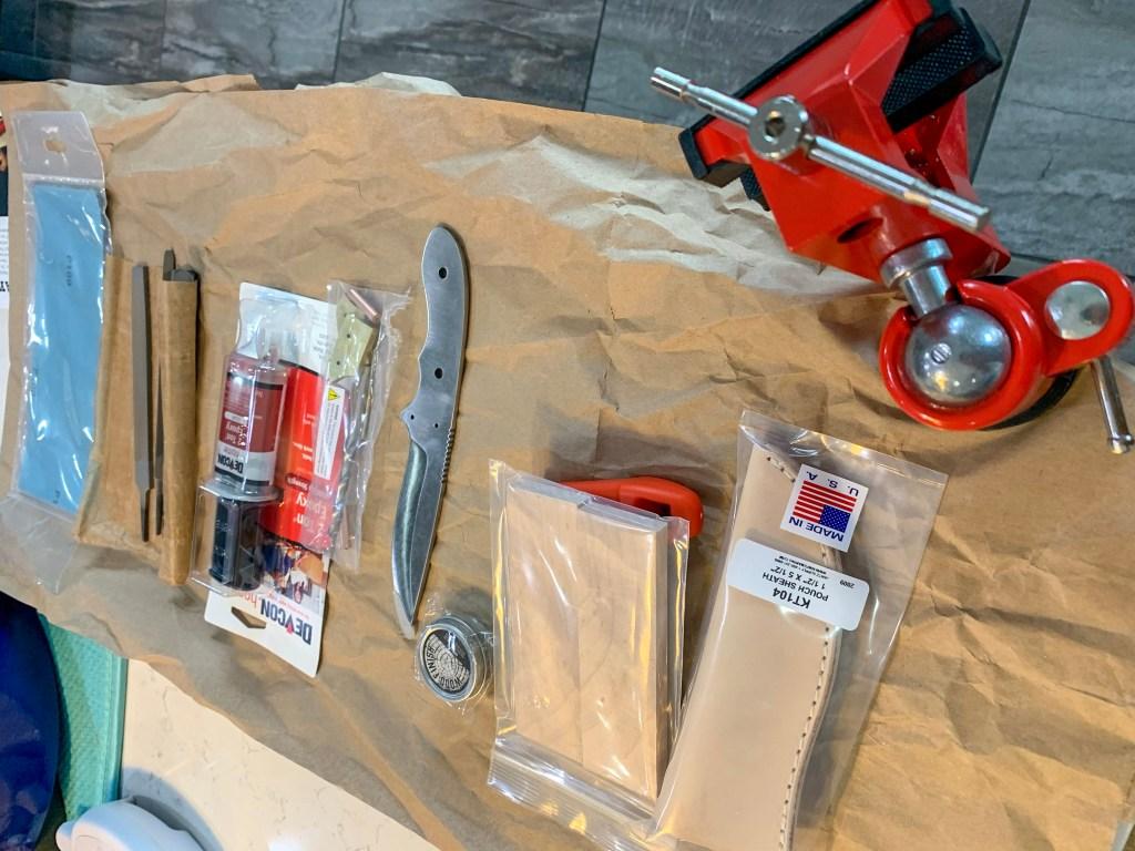 DIY Knife Making Kit ManCrates
