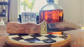This Knife Making Kit From ManCrates Pushed Me To My DIY Limits And The Juice Was Worth The Squeeze