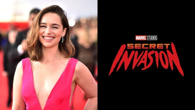 emilia clarke secret invasion