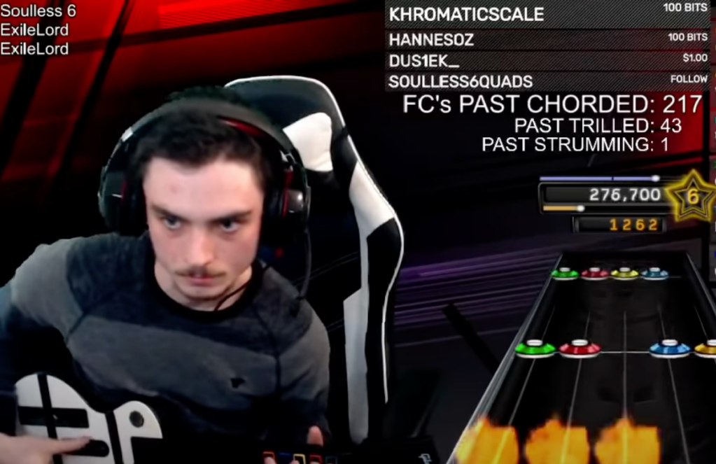 first-ever perfect score Soulless 6 Guitar Hero