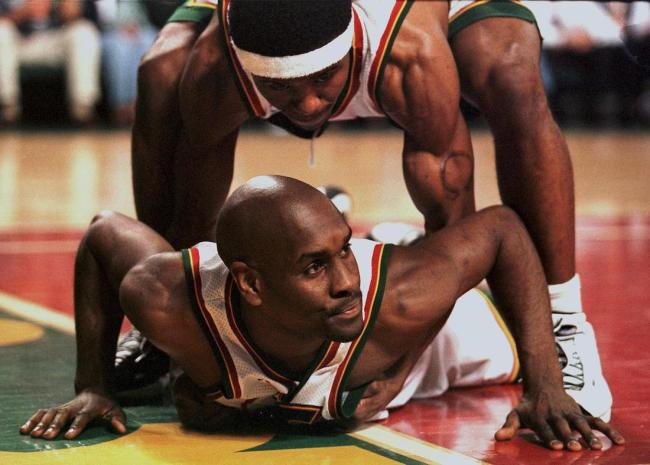 Basketball Hall of Famer Gary Payton once threatened a teammate by saying he'd pull a gun and kill his family