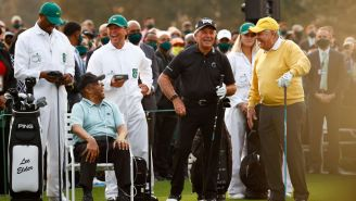 Gary Player's Son Banned From The Masters After Embarrassing Golf Ball Stunt During Opening Tee Ceremony