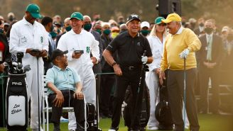 Gary Player Claims His Son And Lee Elder Are 'Dear Friends' While Finally Addressing Golf Ball Marketing Stunt At Masters