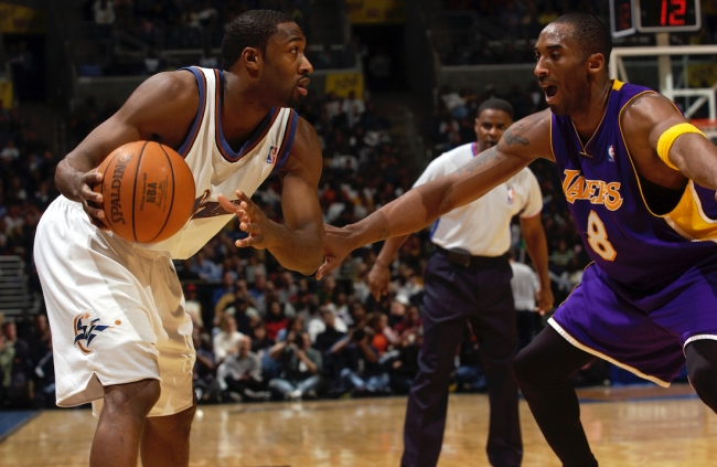 Former NBA All-Star Gilbert Arenas describes a time he purposely sabotaged a free agent meeting with the Los Angeles Lakers in 2011