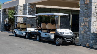 Golf In South Korea Includes Robots Taking Care Of Your Clubs And Self-Driving Golf Carts