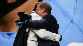 The NFL Says Roger Goodell Will Be Allowed To Hug Players At The Draft And Fans Immediately Had Jokes