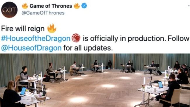house of the dragon tweet