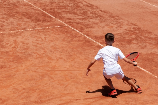 Youth Tennis Prodigy