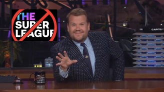 James Corden Absolutely Buries The Super League, Labels It The Death Of Soccer