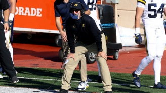 The Amount Of Money Jim Harbaugh Made From A Downy Ad About His Khakis Has Dads Everywhere Smiling