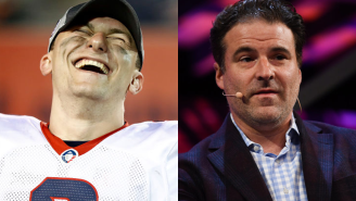 Johnny Manziel Sent Darren Rovell A Signed Helmet With A Two-Word Message That Perfectly Sums Up Their Relationship