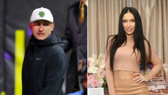Johnny Manziel's Ex-Wife Bre Tiesi Takes A Parting Shot, Puts Him On Blast For Sliding In Other Girls' DMs While They Were Married