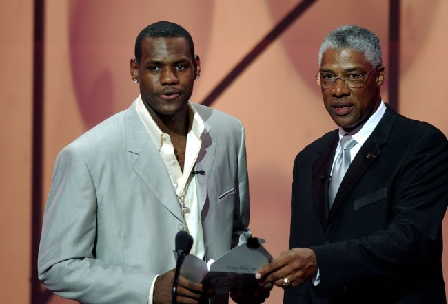 Basketball Hall of Famer Julius Erving excludes LeBron James from his top-10 list of all-time NBA greats