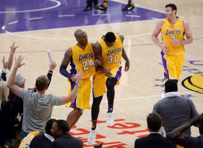 New York Knicks star Julius Randle explains how Kobe Bryant's work ethic has helped him elevate his own game this NBA season
