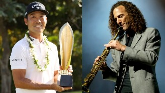 Kevin Na Was So Impressed With Kenny G's Golf Game, He Invited Him To Perform At His Wedding, And Kenny Blew The Roof Off
