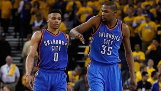Kevin Durant Initially Leaves Russell Westbrook Out Of Top 5 Players He's Played With, Baffles Dame Lillard And NBA Twitter