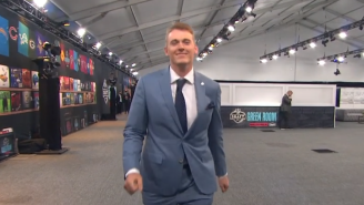 NFL Fans React To Mac Jones' Intense Speed Walk After Getting Drafted By The New England Patriots