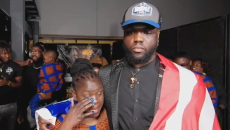 Kwity Paye Tells His Mom She's Done Working And She's Retiring On Live TV During The NFL Draft