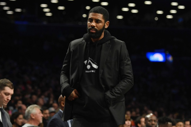 Brandon Tierney, co-host of the Tiki and Tierney radio show, slams Kyrie Irving for routinely taking personal days given his $33 million salary