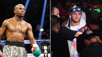 Floyd Mayweather Is Set To Face Logan Paul On June 5th With Special Rules That Will Allow Paul To Outweigh Him By 30 Pounds