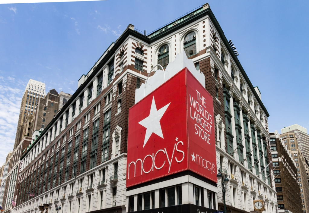 Macy's Fifth Avenue Manhattan New York