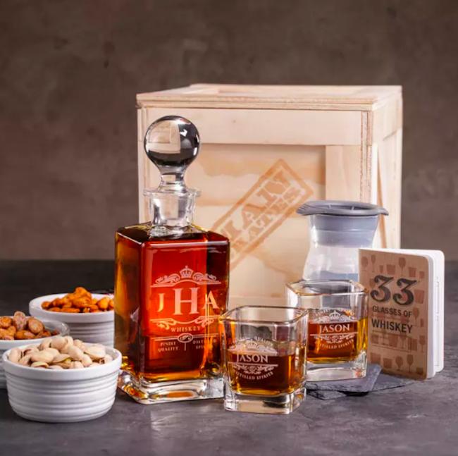 Man Crates Whiskey Appreciation Crate