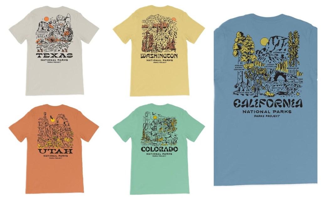 Parks Project vintage shirts