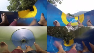 Footage Of Riding Down The World's Longest Water Slide Is Proof That Heaven Is A Place On Earth