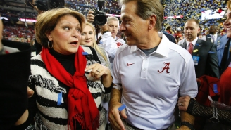 Nick Saban Tells A+ Story About Getting Absolutely Zinged By His Wife Over Her Ex