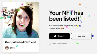 Original 'Overly Attached Girlfriend' Meme Sells As NFT For $400,000 / 200 ETH