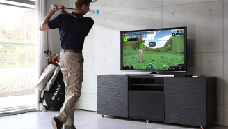Master Your Swing From The Comfort Of Your Home Or Office With The PhiGolf Golf Simulator