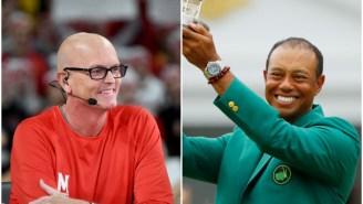 Scott Van Pelt Thinks Tiger Woods Needs To Embrace His Hair Loss, Go Fully Bald