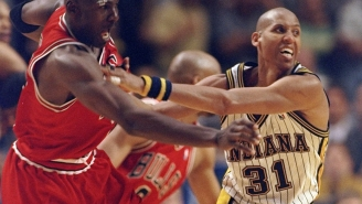 Reggie Miller Gives NSFW Reply When Asked About The Possibility Of Playing With Michael Jordan Back In The Day