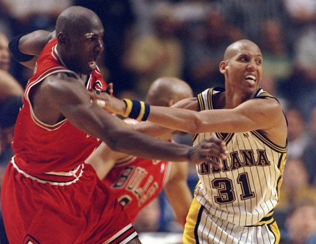 Basketball Hall of Famer Reggie Miller gives classic answer when asked about whether he'd ever team up with Michael Jordan in the past