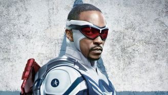 Anthony Mackie's Story Of His Son Learning His Dad Is Captain America Is Food For The Soul
