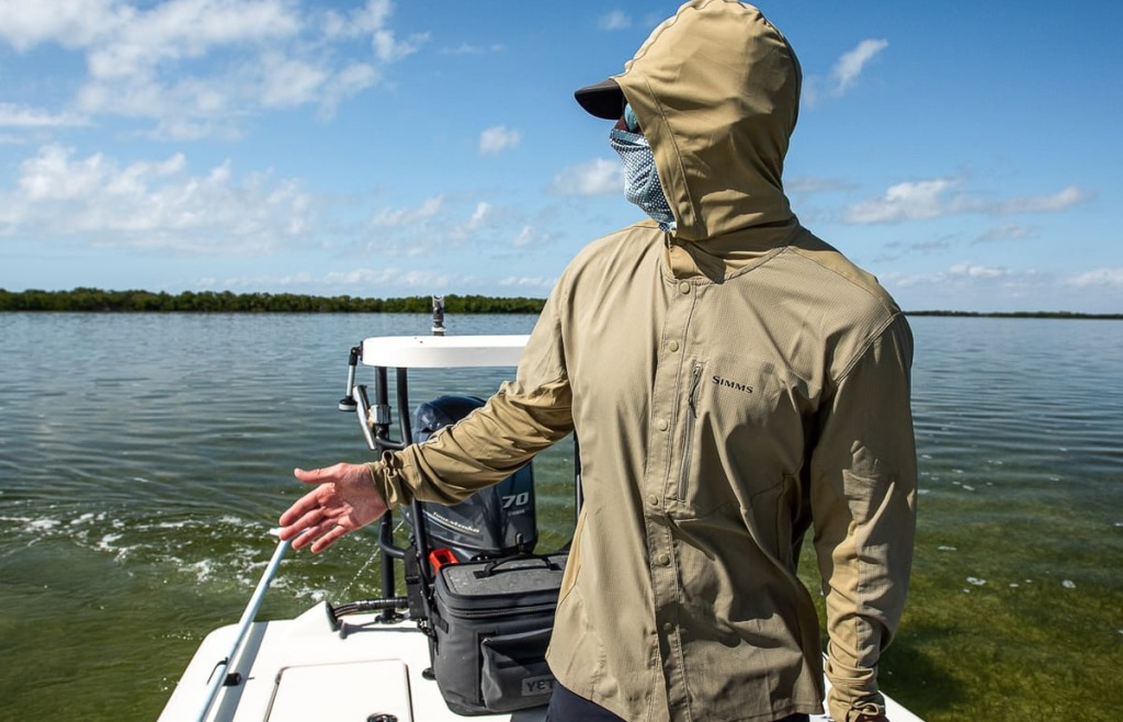 Simms fishing hoodies