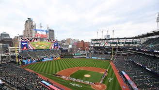 Planes With 'Cancel Deez Nuts' And 'Chief Wahoo Did Your Mom' Banners Flew Around Stadium In Cleveland During Indians Opening Day Game