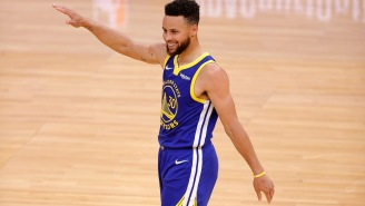 Steph Curry Busted Out An Airplane Celebration After Checking Twitter At Half And Seeing The Random Request