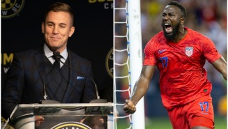Salty Jozy Altidore Calls Taylor Twellman A 'White Boy With Connects' After His Criticism Of U.S. Soccer Failing To Qualify For Olympics