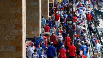 People Have Mixed Opinions After Seeing Video Of Texas Rangers' Stadium Packed With Fans At Full Capacity