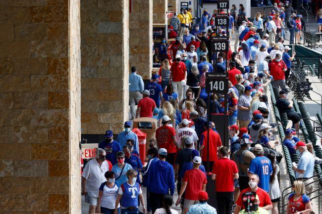 texas rangers stadium full capacity